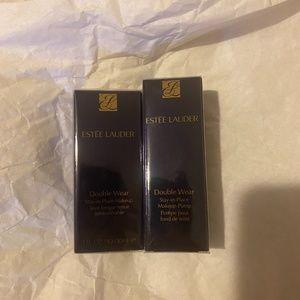 Estee Lauder Double Wear Foundation and Pump